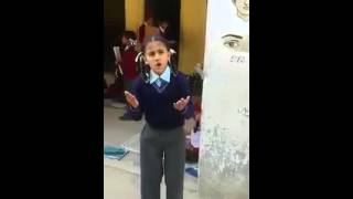 Small School Girl Speech on Punjabi Lok Khedan