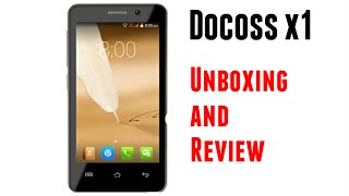 DOCOSS X1 Smartphone at 888rs.   First Look   Review   Specifications   How to Buy