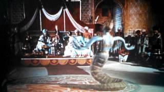 7th Voyage of Sinbad: Naga scene