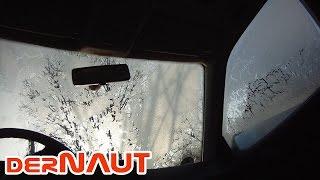 Automatische Enteisung der Autoscheiben - Automatic defrosting of the car glass