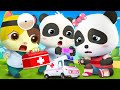 Baby Panda Terluka | Kartun Dokter | Lagu Keamanan | Lagu Anak-Anak | Kartun Bayi | BabyBus