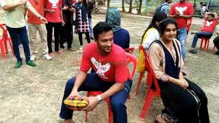 Shakib Al Hasan Playing Pillow Passing Game With Friends Wife || Playing Funny Game