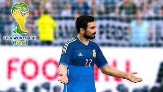 Iran vs. Argentina | 2014 FIFA World Cup Brazil Simulation | Pro Evolution Soccer 2014 (PES 2014)