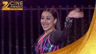 Sonakshi Sinha Performing at Zee Cine Awards 2016