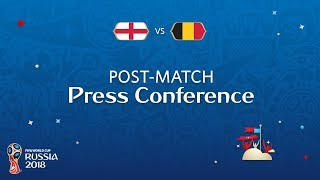FIFA World Cup™ 2018: England v. Belgium - Post-Match Press Conference