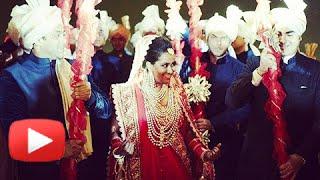 Salman Khan's Sister Arpita Khan's Emotional Speech At Her Wedding