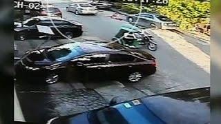 Saksi: Dalagitang walang saplot, nakunan ng CCTV na lumabas mula sa isang kotse