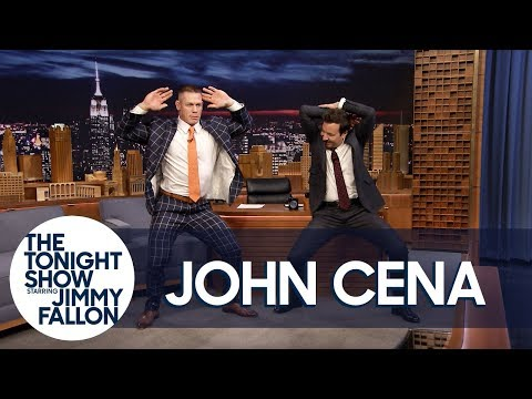 Jimmy Teaches John Cena Madonna s Girl Gone Wild Dance for His Wedding