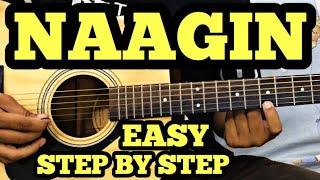 NAAGIN Guitar Tabs Lesson For Beginners | The Lady Cobra | FuZaiL Xiddiqui