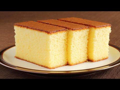 Sponge Cake without Oven Basic Plain & Soft Sponge cake w Eng. Subtitles