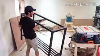 نسخة عن حمود العراده | طريقة عمل طاولة راوتر خشب | shaving wood🔴