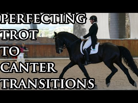 Your Riding Success TV Episode 34 Trot to Canter Transitions