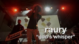 """Raury """"God's Whisper"""" (Live at vitaminwater's #uncapped)"""