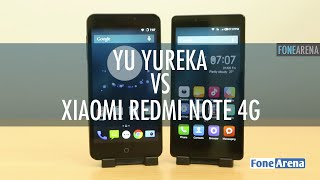 Yu Yureka Vs Xiaomi Redmi Note 4G - Best Budget 4G Smartphone for 10000?