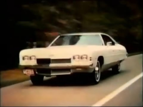 Chevrolet Impala 'See The U.S.A.' Commercial (1972)