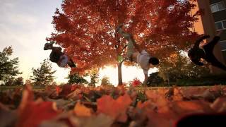 Breakdancing in the Leaves -