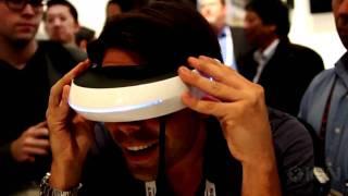 Amazing! TV Innovations Shaped Glasses Sony HMZ-T1.MP4