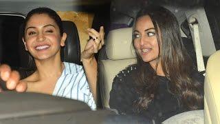Bollywood At Noor Movie Special Screening - Sonakshi Sinha, Anushka Sharma