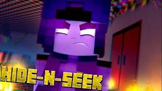 PURPLE GUY HAS A GIRLFRIEND - Minecraft FNAF Hide N Seek