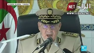 Algerian army chief rejects pre-conditions for talks with protesters