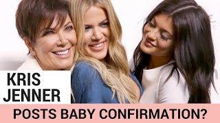 Did Kris Jenner Just Confirm Khloe & Kylie's Pregnancies?