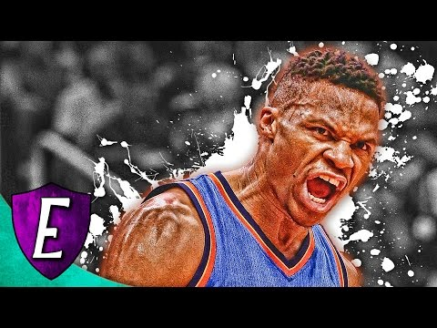 Russell Westbrook - Photoshop Speed Art