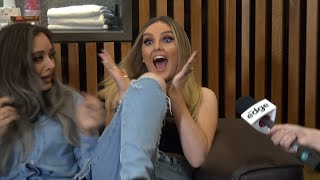 Perrie Edwards FREAKS OUT after reuniting with her childhood best friend