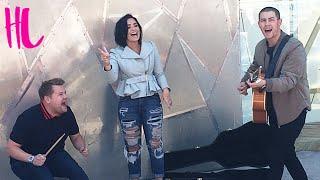 Demi Lovato & Nick Jonas 'Jealous' Carpool Karaoke Preview EXCLUSIVE