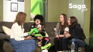 #SagaLive - Gabriela Cuevas, Consuelo Duval y Chuponcito