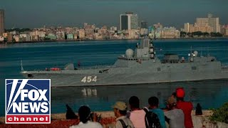 Russia sends a warning to US with armed warship in Cuba