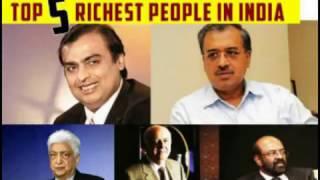 lndian Top 5 Richest People in India of 2017 no 1 Mukesh ambani