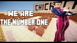 We Are Number One -Minecraft NoteBlock Tutorial