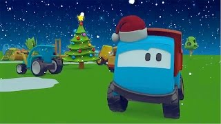 Leo la Troca Curiosa - ¡Feliz Navidad! - Christmas Special - Car cartoons for children