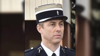 French police officer who took hostage
