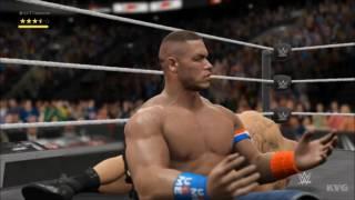 WWE 2K17 - John Cena vs Brock Lesnar   Gameplay (HD) [1080p60FPS]