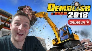 Demolish & Build 2018 Gameplay - DESTROY!!
