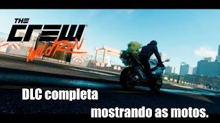 The Crew wild run - DLC completa, mostrando as motos.