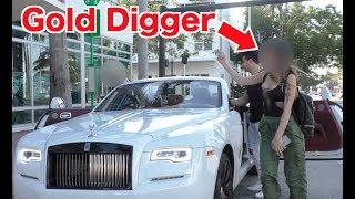 Gold Digger Serenade Prank Ft Justin Bieber!