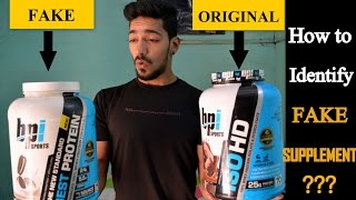 How to Identify Fake or Orignal Protein Supplements | Tips to Buy Original Supplement