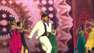 Allu Arjun and Anirudh Performance in SIIMA 2016