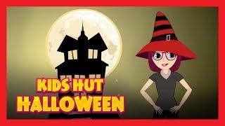 KIDS HUT HALLOWEEN PARTY RHYMES - HAPPY HALLOWEEN || HALLOWEEN FOR KIDS - HALLOWEEN SONGS