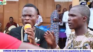 APLAHOUE : KLAUS ET KOLE apportent de la joie aux populations de Kaitemey