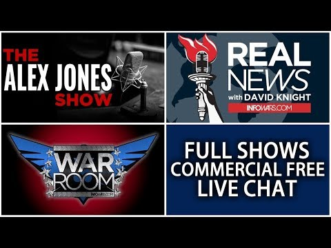 Xxx Mp4 LIVE NEWS TODAY 📢 Alex Jones Show ► 12 NOON ET • Thursday 1 18 18 ► Infowars Stream 3gp Sex