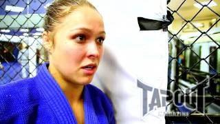 TapouT Magazine: Ronda Rousey threatens to