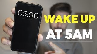 WHY I'VE BEEN WAKING UP AT 5AM EVERY DAY | Alex Costa