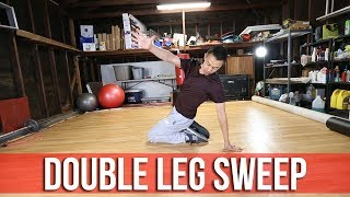 How To Breakdance | Double Leg Sweep | Flow Basics