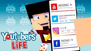 Minecraft: AS REDES SOCIAIS - YOUTUBERS LIFE Ep.3 ‹ AMENIC ›