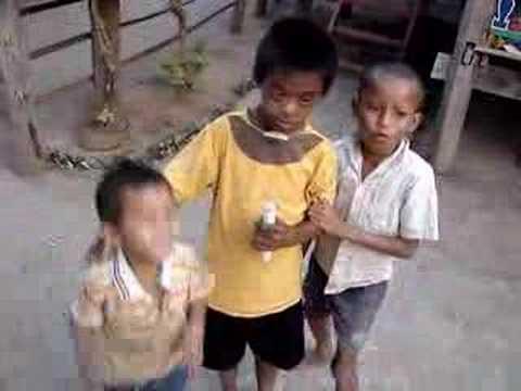 Crazy scat singin' boys! Don Det, Laos