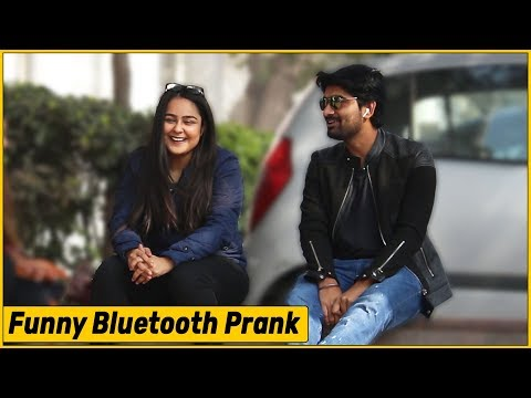 Bluetooth Prank Flirting with Cute Girls The HunGama Films