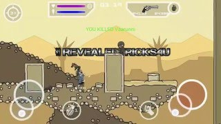 Mini Militia - Unlimited Health, Flying power, etc for Android - WORKS ON MULTIPLAYER